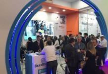 Estande do Brasilturis na WTM Latin America 2018